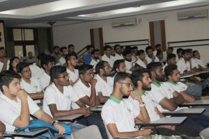 IISM Student attending Guest Session
