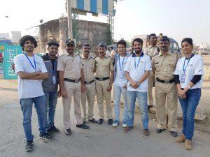 IISM Students at TATA Mumbai Marathon 2018