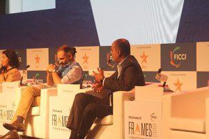 Mr.Nilesh Kulkarni on the panel at FICCI Frames 2018