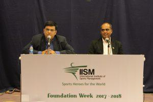 Abhijeet & Nilesh Kulkarni at IISM Foundation Week 2017