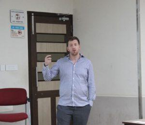 Dr. James Rudd at IISM