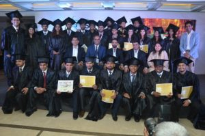 Group Photo with Ajinkya Rahane at iism