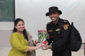 Feliciated to NSG Commando at iism