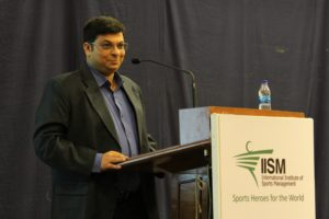 Abhijeet at IISM Foundation Week 2017