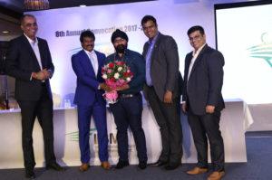 Dhanraj Pillay at IISM Convocation 2017-2018