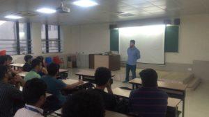 """Mr. Amit Mantri Alumnus on """"Career in Sport Management"""""""