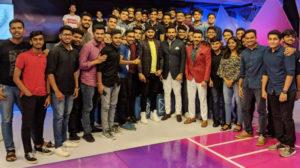 IISM Students at Star Sports India