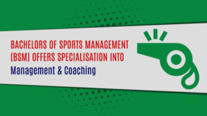 Bachelor in Sports Management