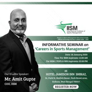 Kolkata IISM Seminar
